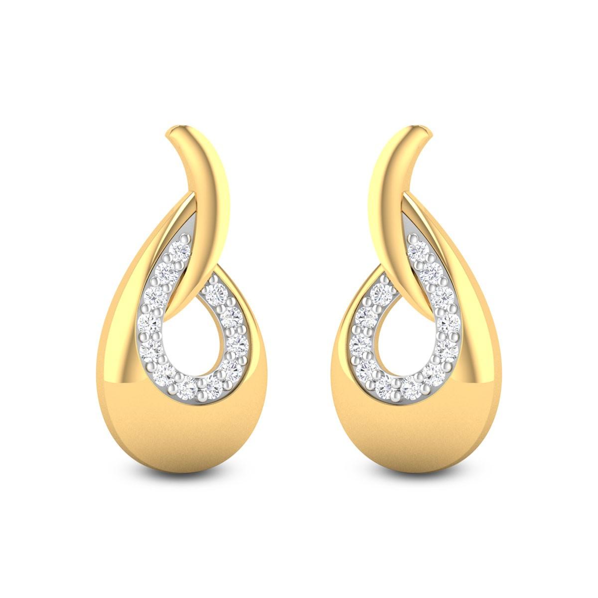Ameya Diamond Stud Earrings