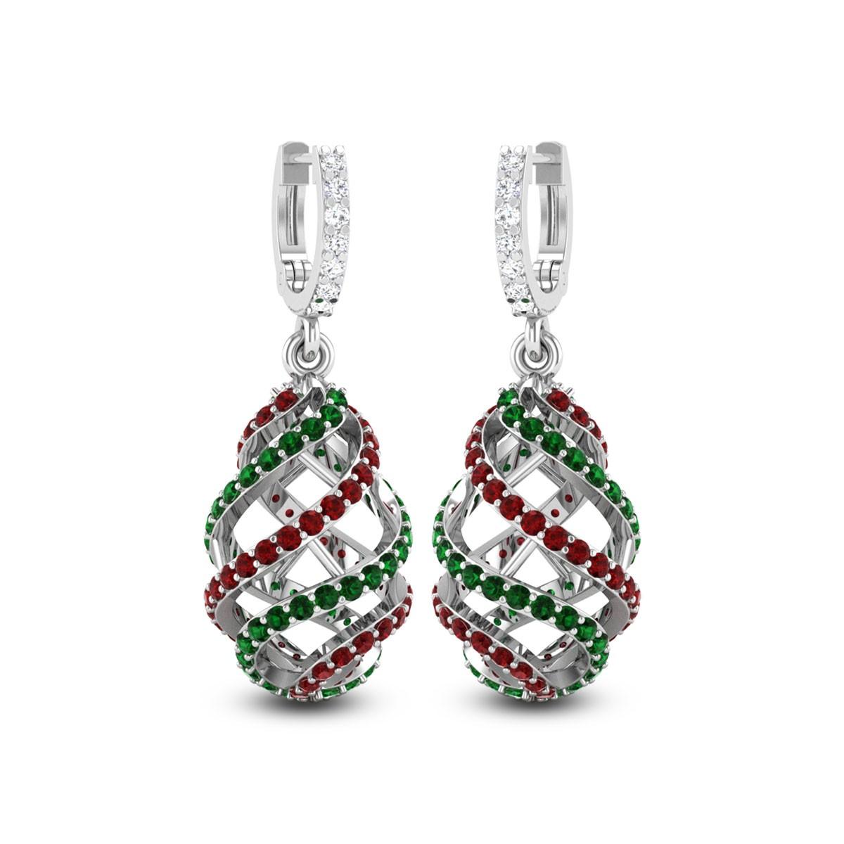 Krivi DNA Hoop Earrings