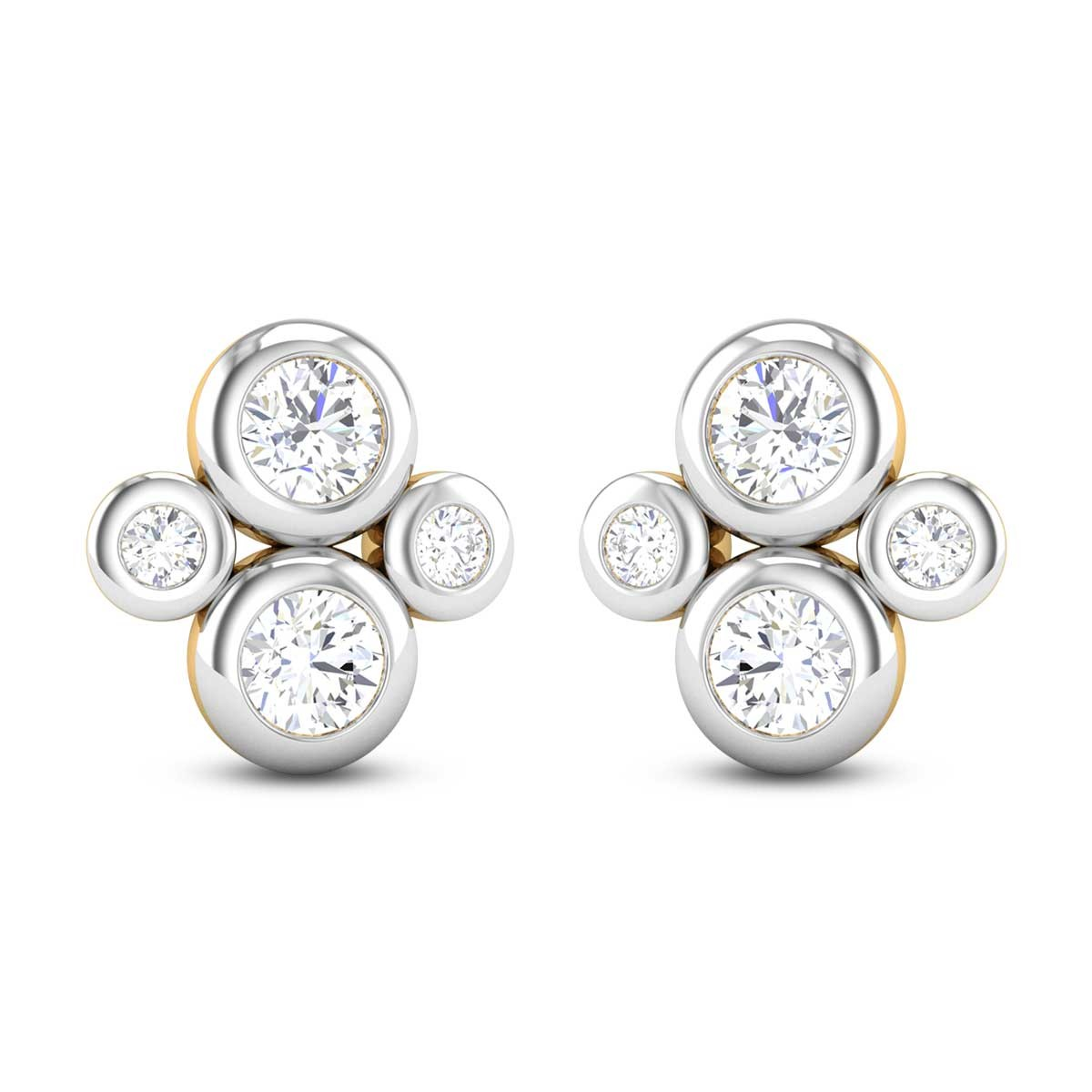 Ashtavakra Stud Earrings