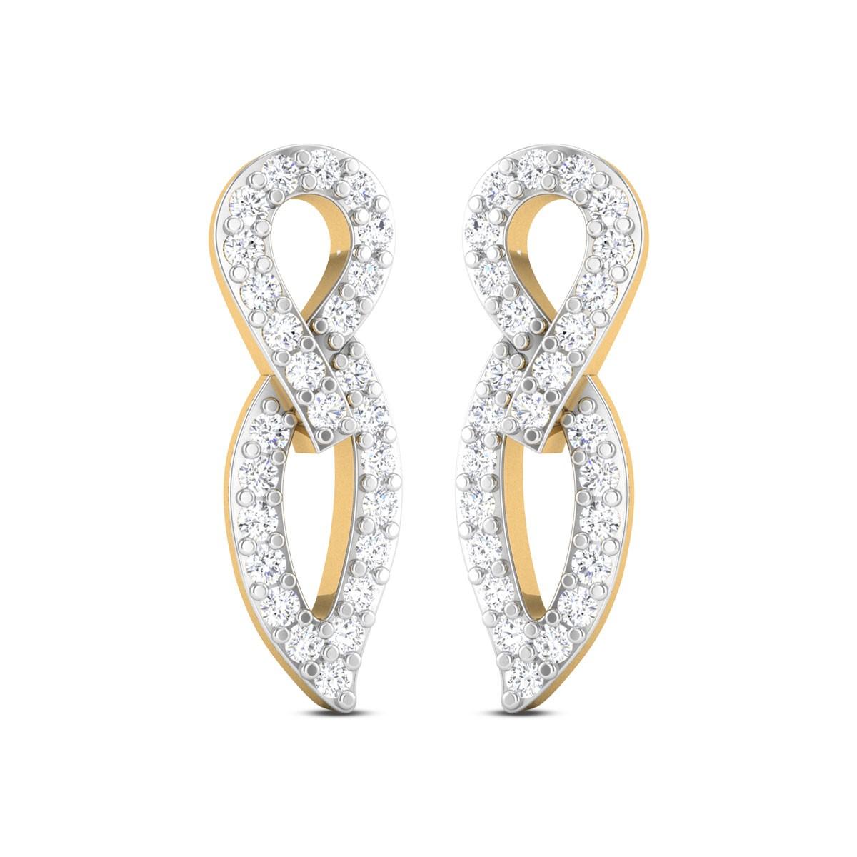 Darian Diamond Stud Earrings