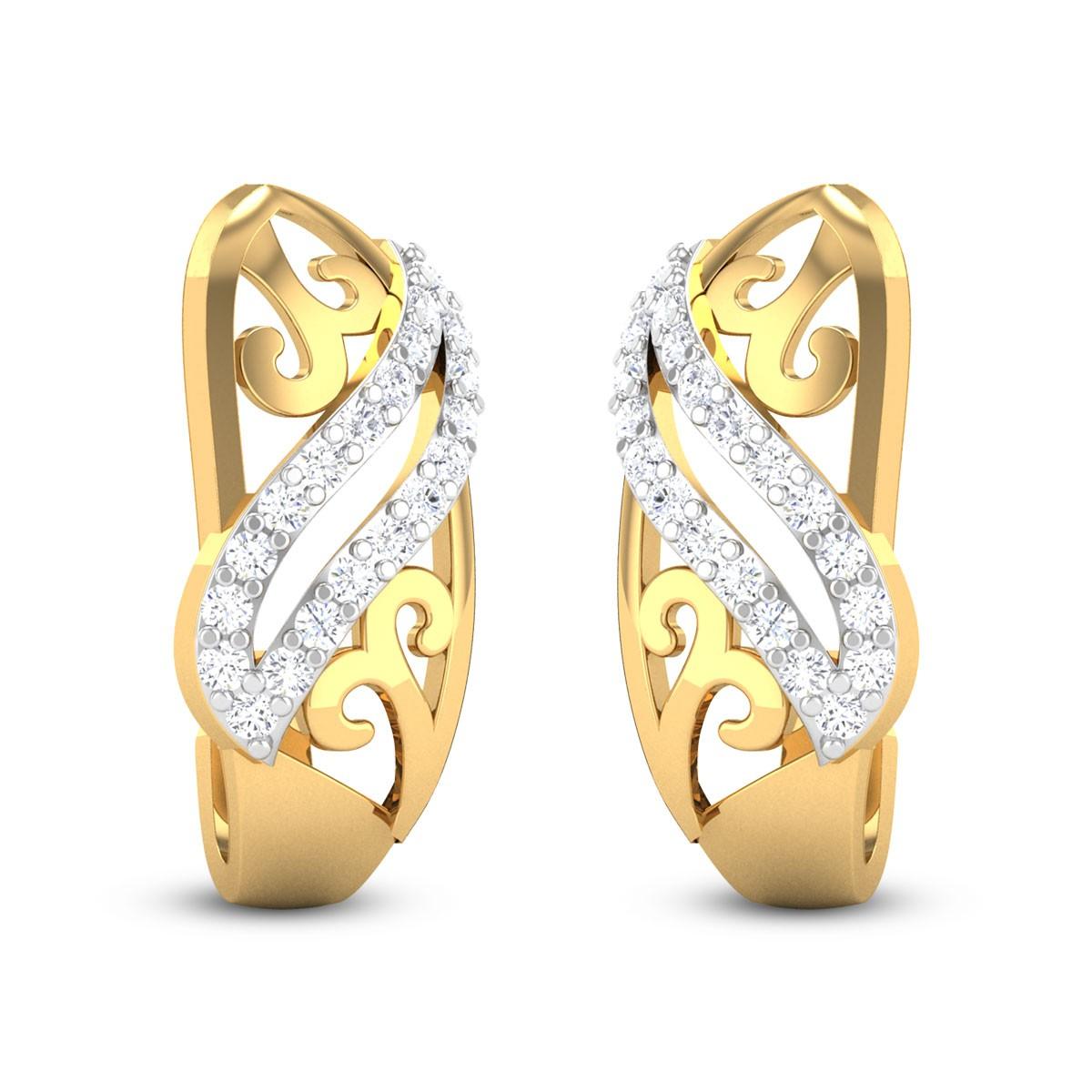 Ellis Diamond Stud Earrings