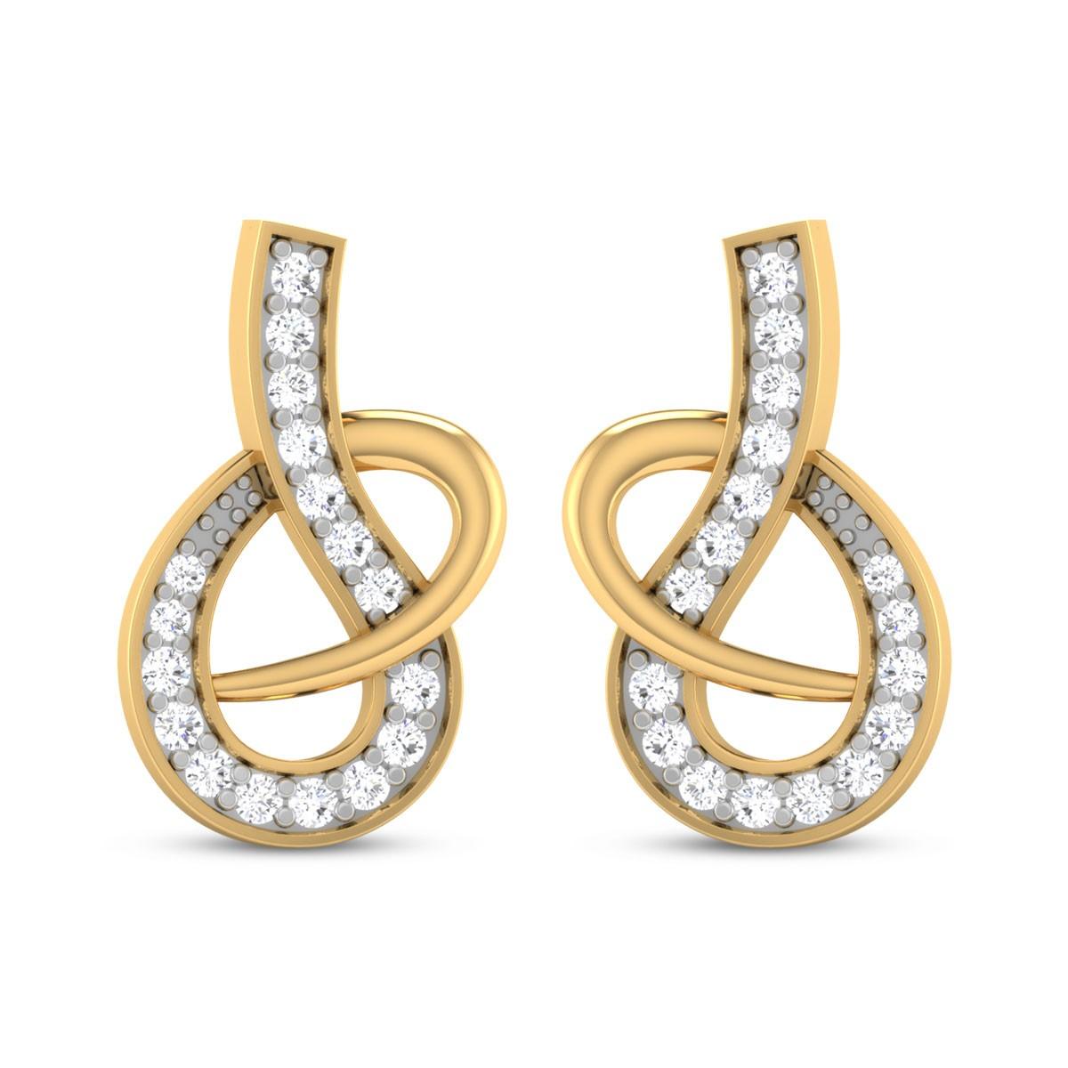 Emery DiamondStud Earrings