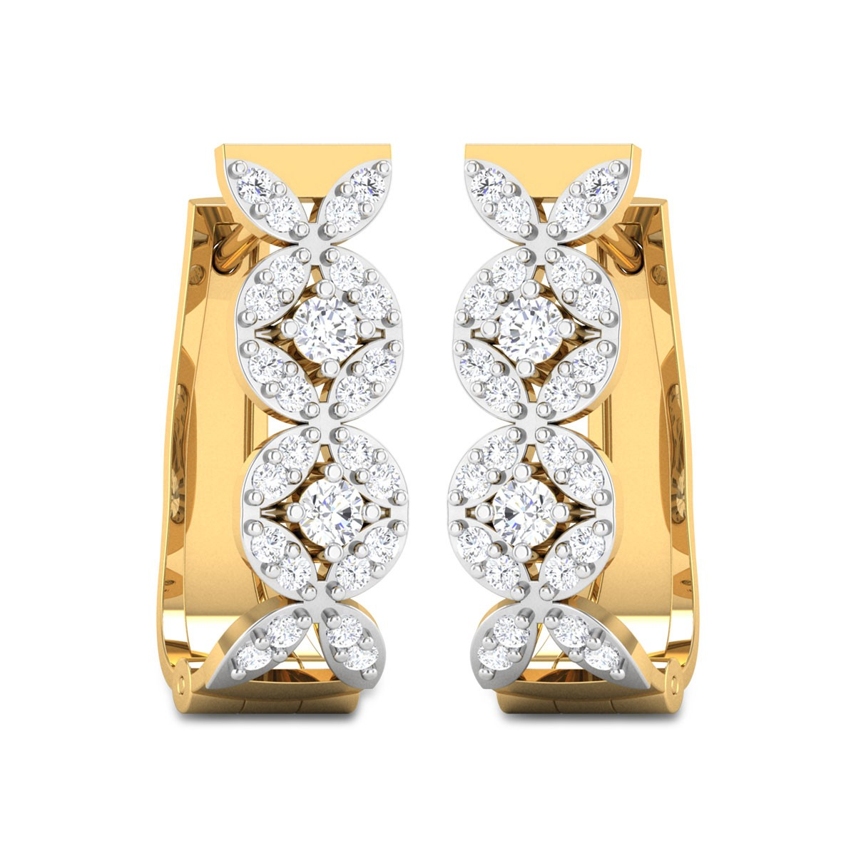 Guthrie Diamond Hoop Earrings