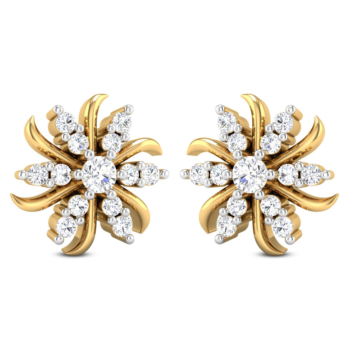 Advaya Diamond Stud Earrings