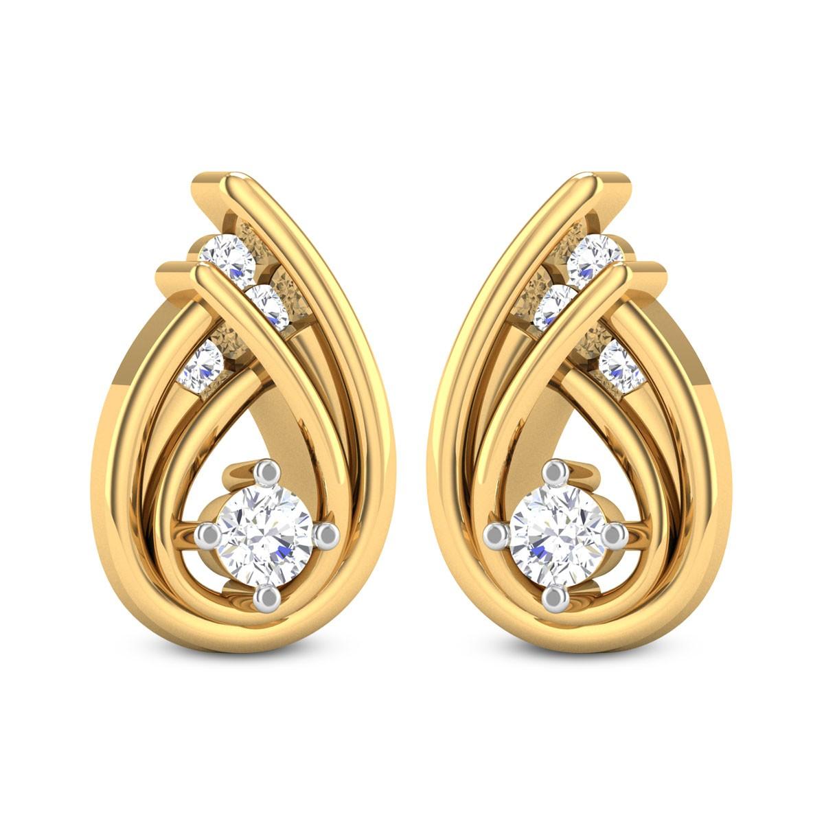 Sloan Diamond Stud Earrings