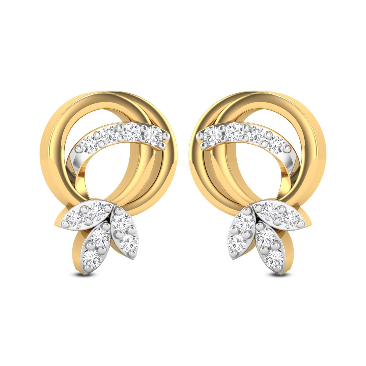 Kora Diamond Stud Earrings