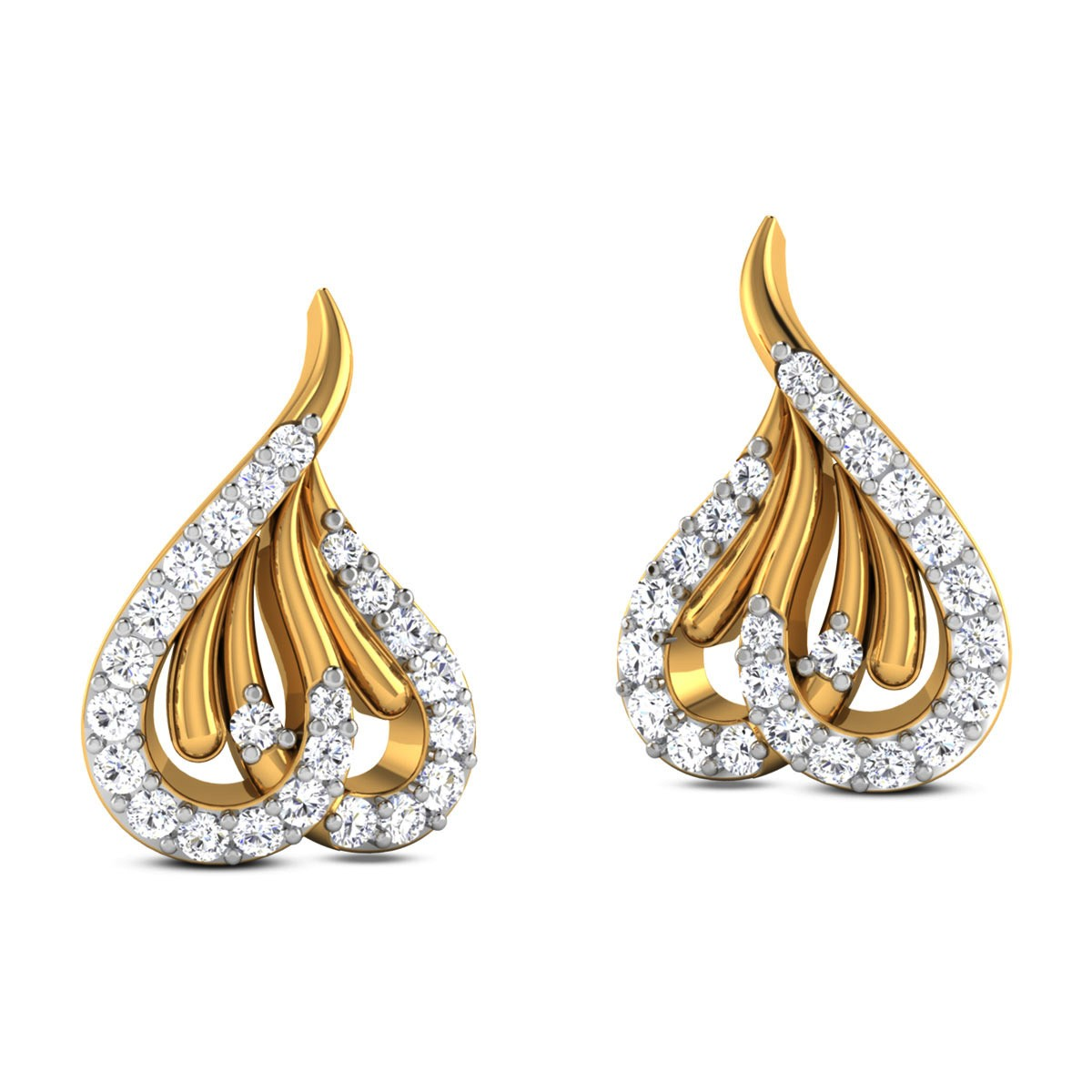 Cheru Diamond Stud Earrings