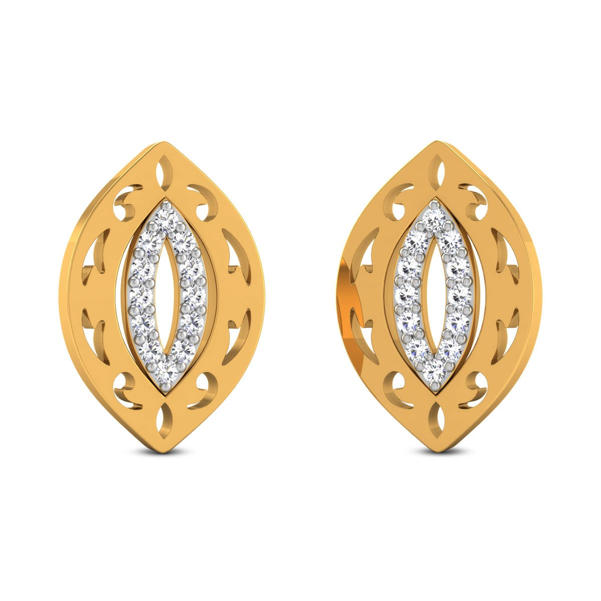 Eilin Diamond Stud Earrings