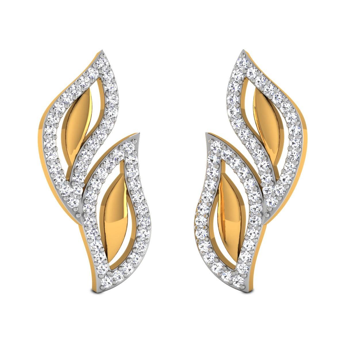 Elili Diamond Stud Earrings