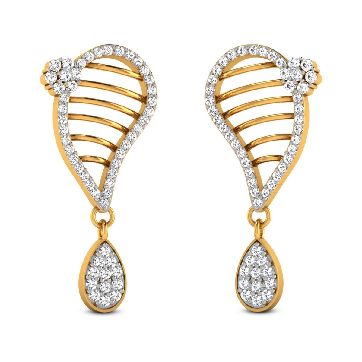 Ernika Diamond Drop Earrings