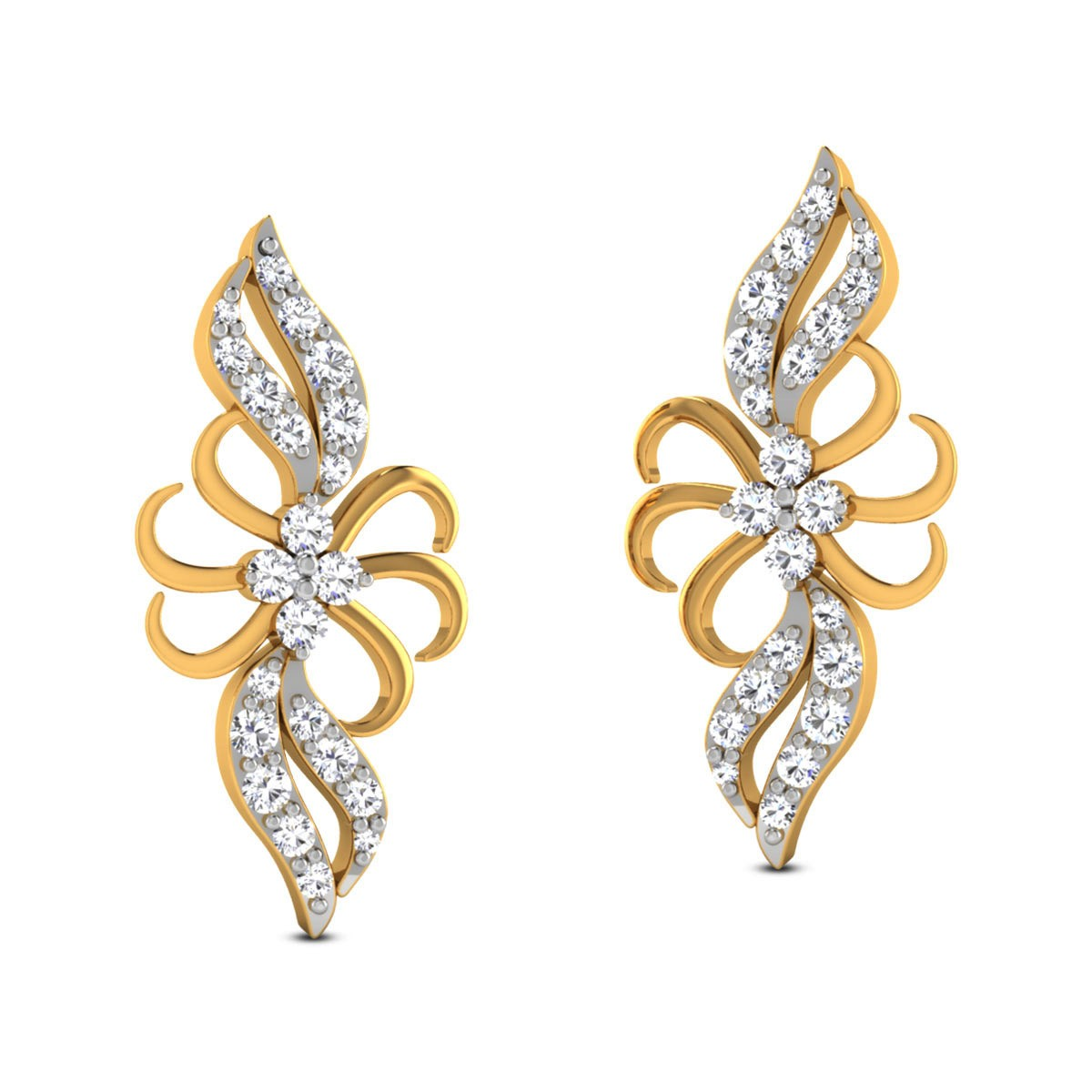 Emme Diamond Stud Earrings