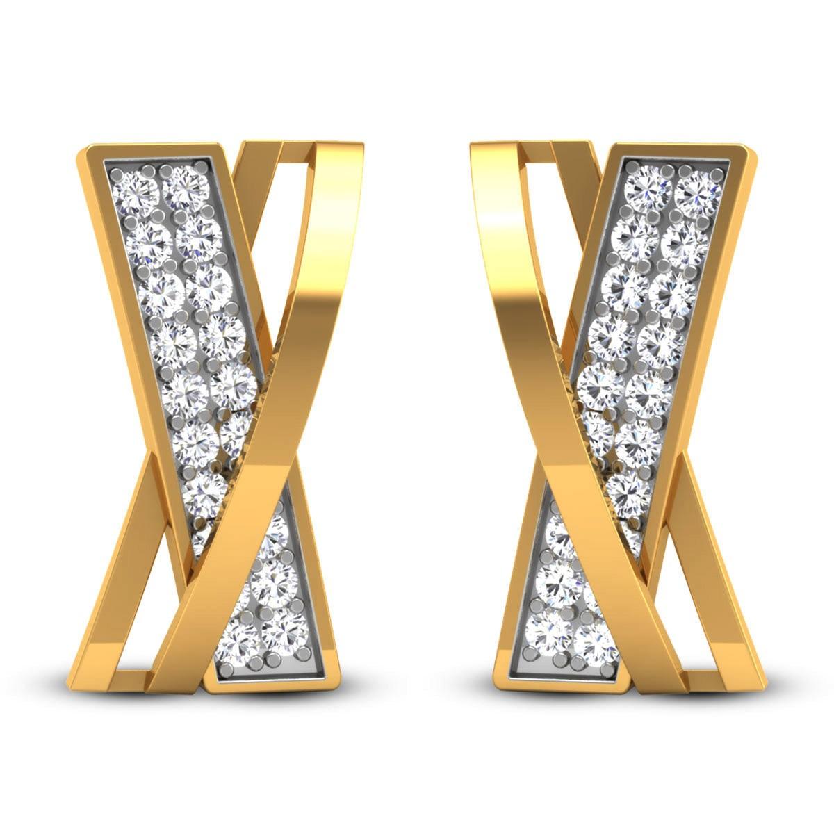 Ethari Diamond Stud Earrings