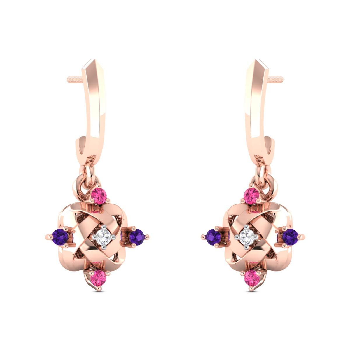 Carys Diamond Dangler Earrings