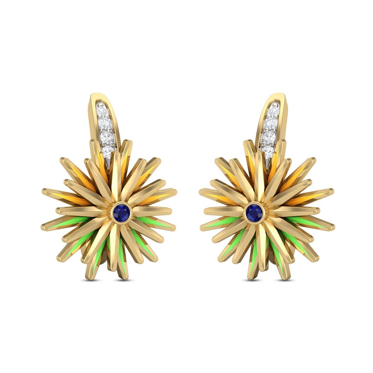Bharati Diamond Earrings