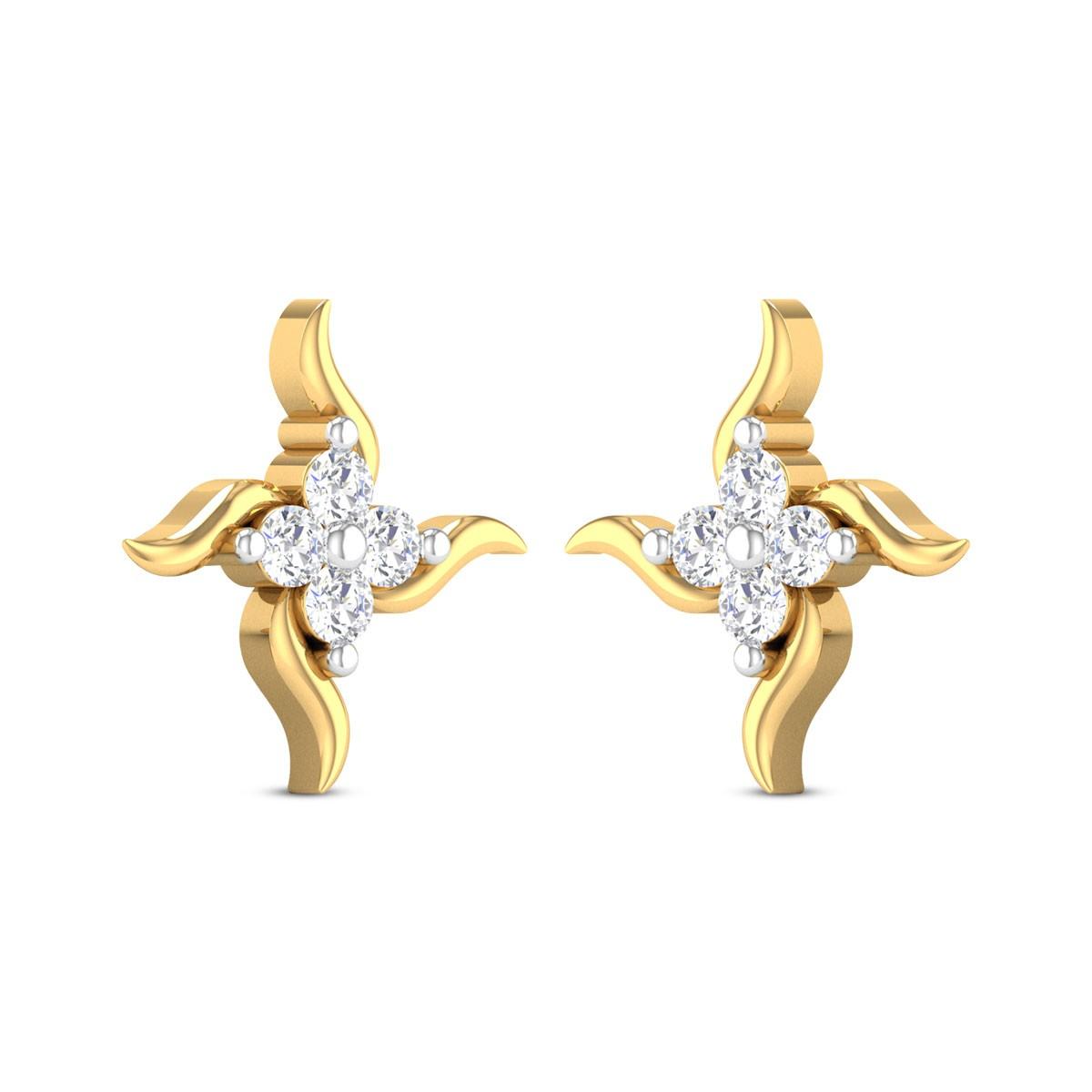 Nazia Diamond Earrings