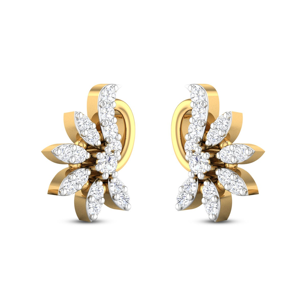 Ahad Kids Diamond Earrings