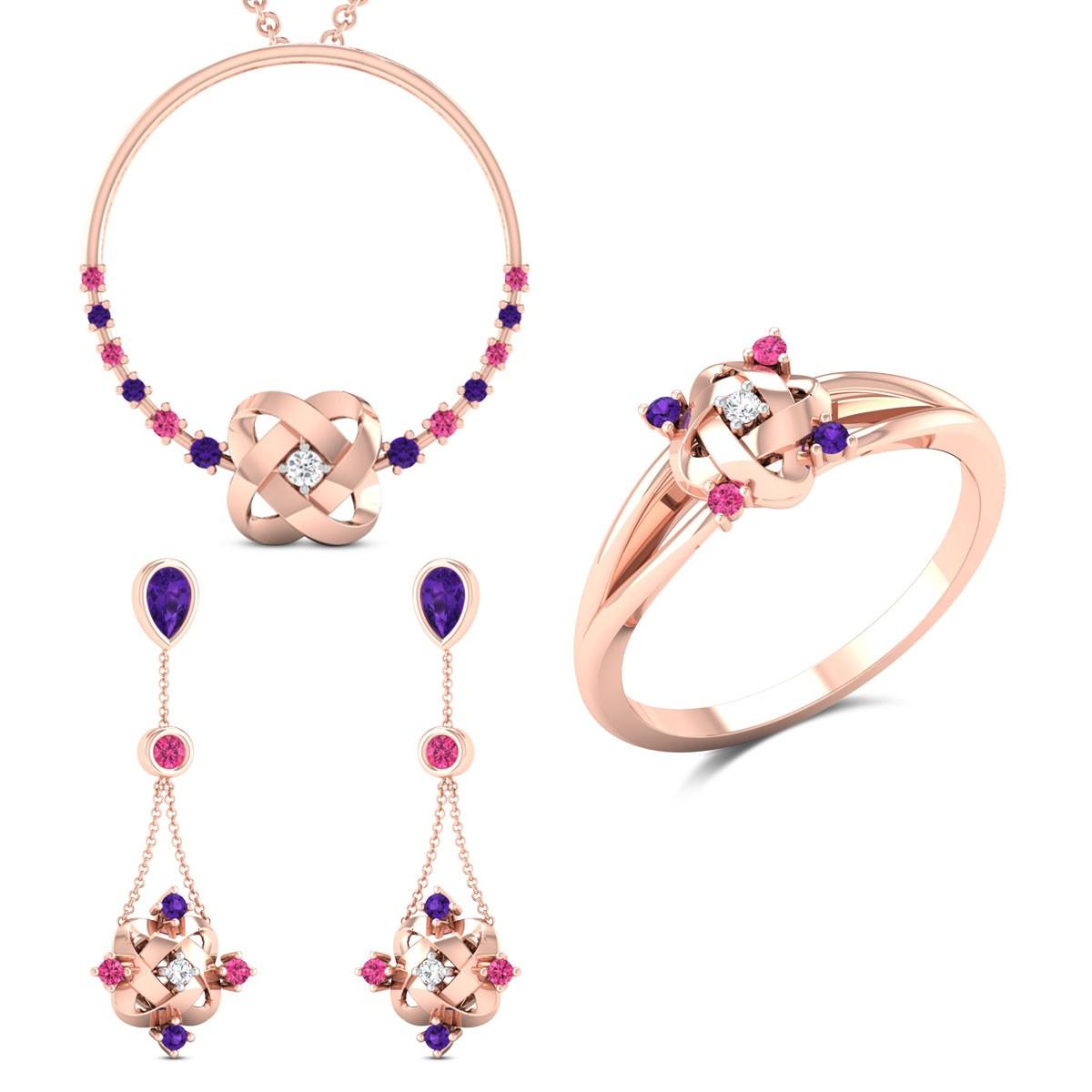Liana Diamond Set