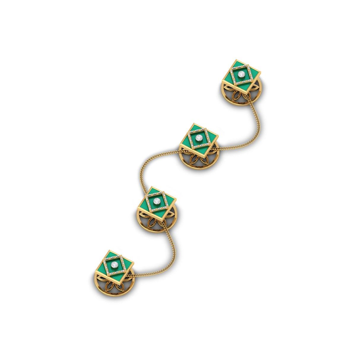 Anik Diamond Kurta Buttons