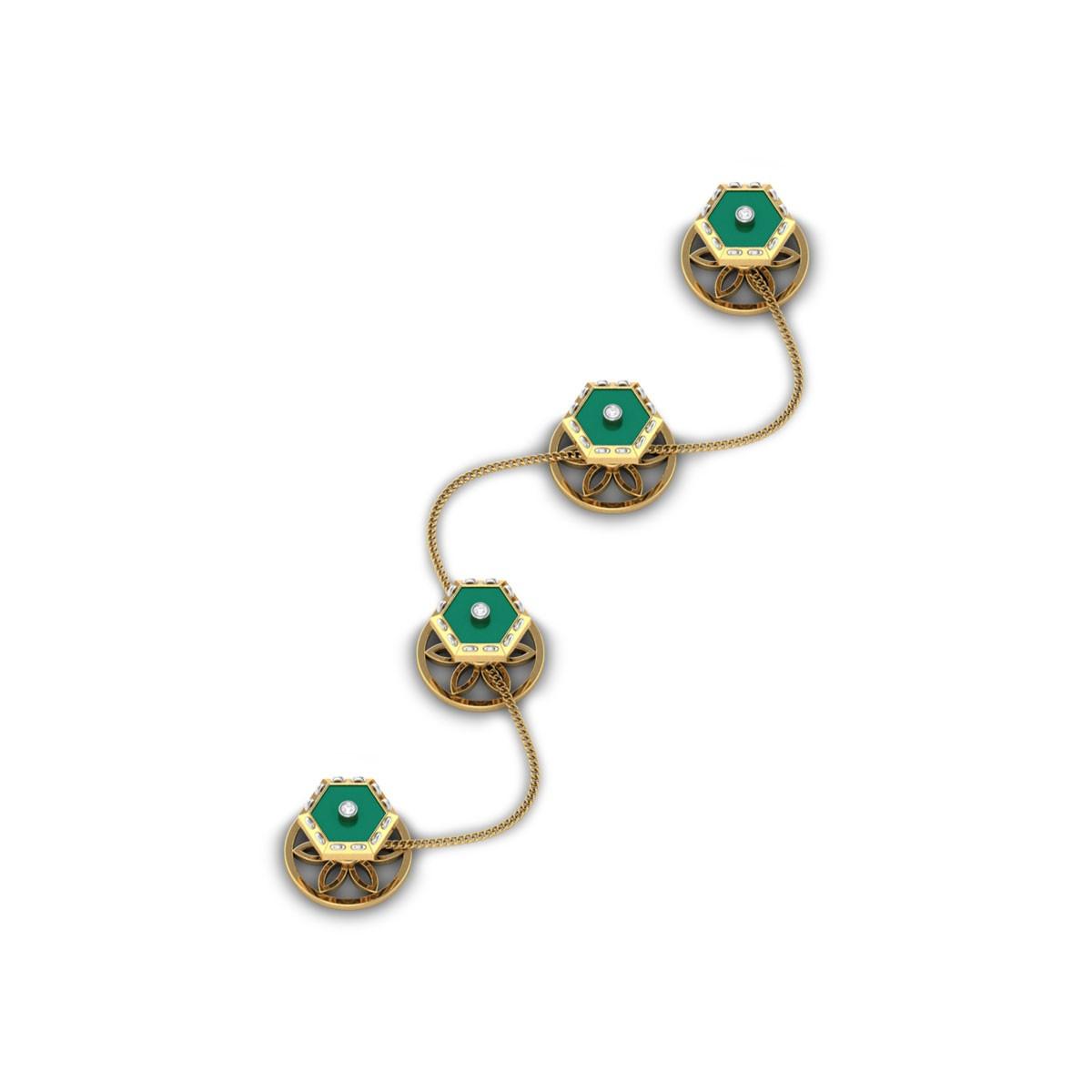 Abhay Diamond Kurta Buttons