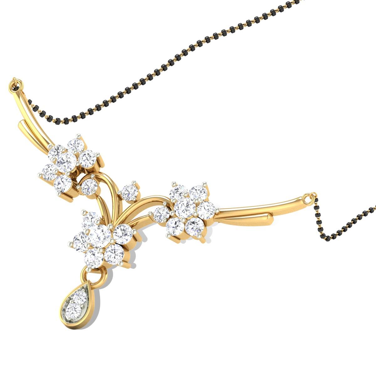 Zaira Diamond Mangalsutra