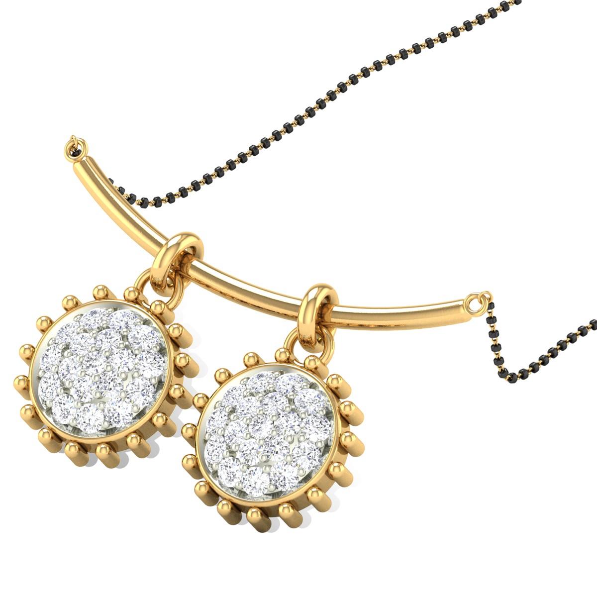 Shasta Diamond Mangalsutra