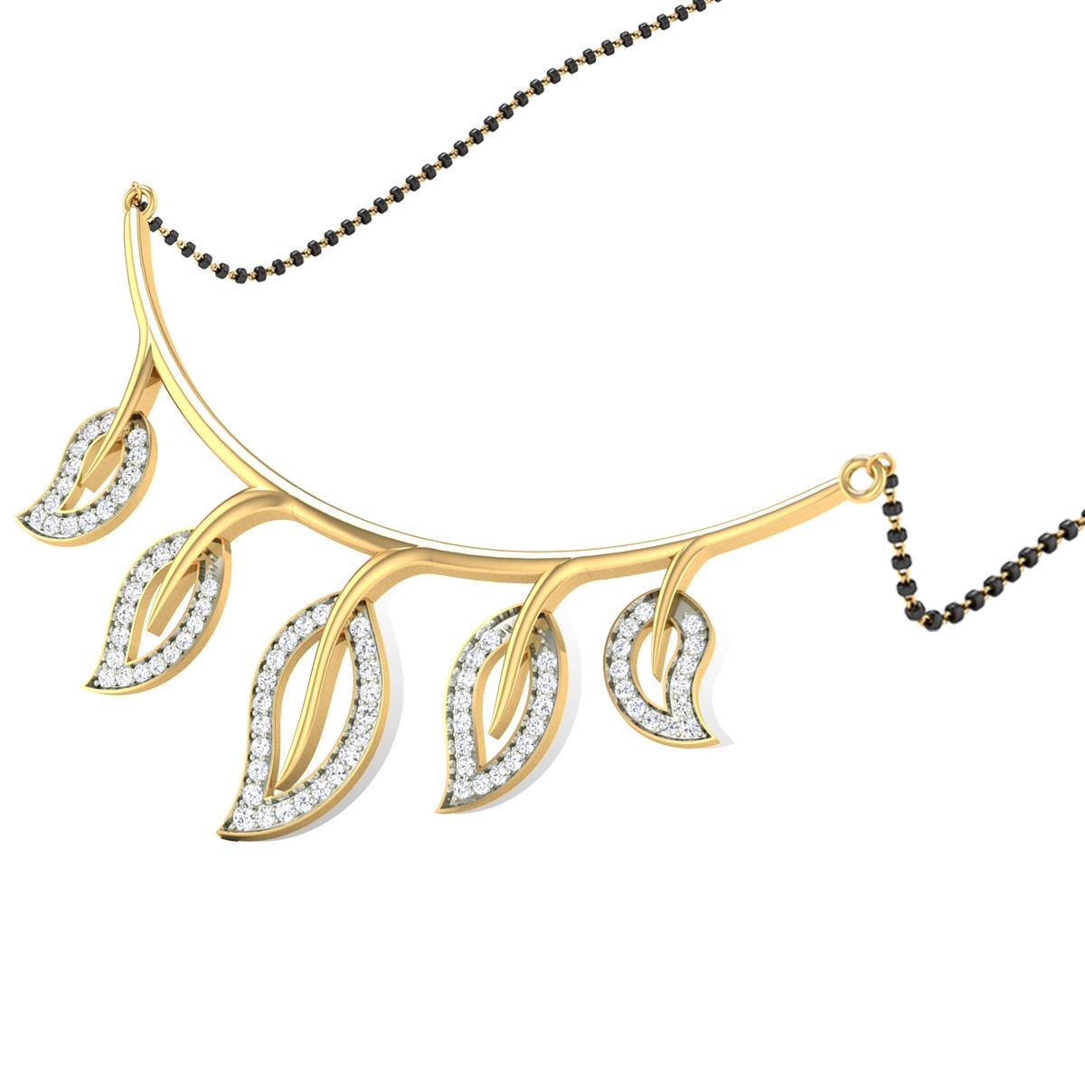Liatris Diamond Mangalsutra