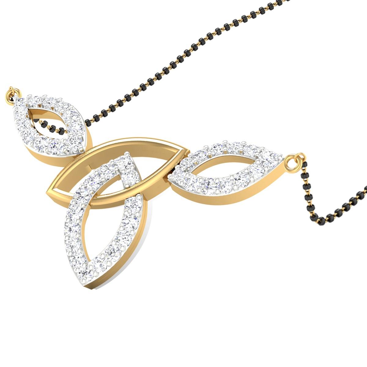 Tabbart Diamond Mangalsutra
