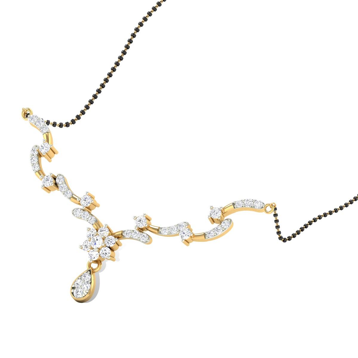 Refaella Diamond Mangalsutra
