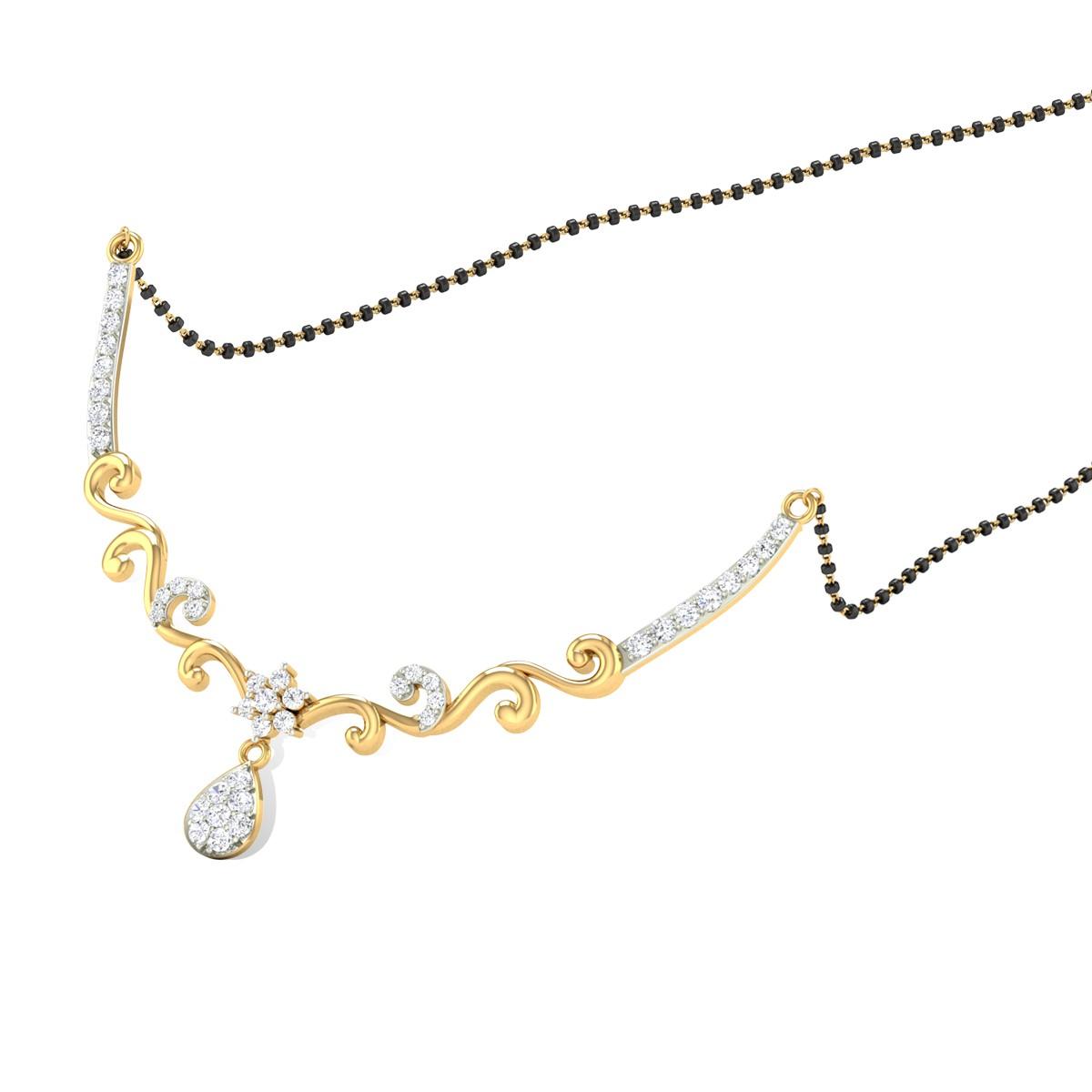 Chalice Diamond Mangalsutra
