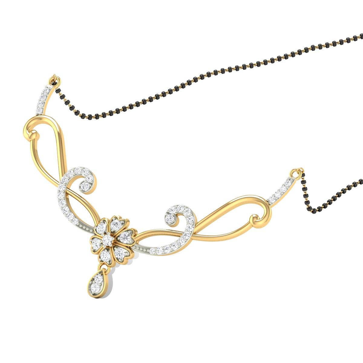 Ariadne Diamond Mangalsutra
