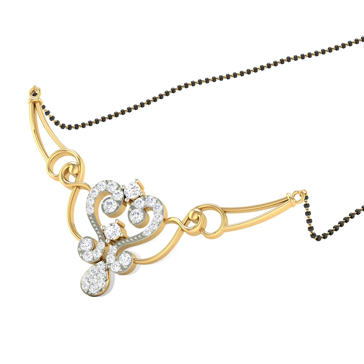 Ansonia Diamond Mangalsutra
