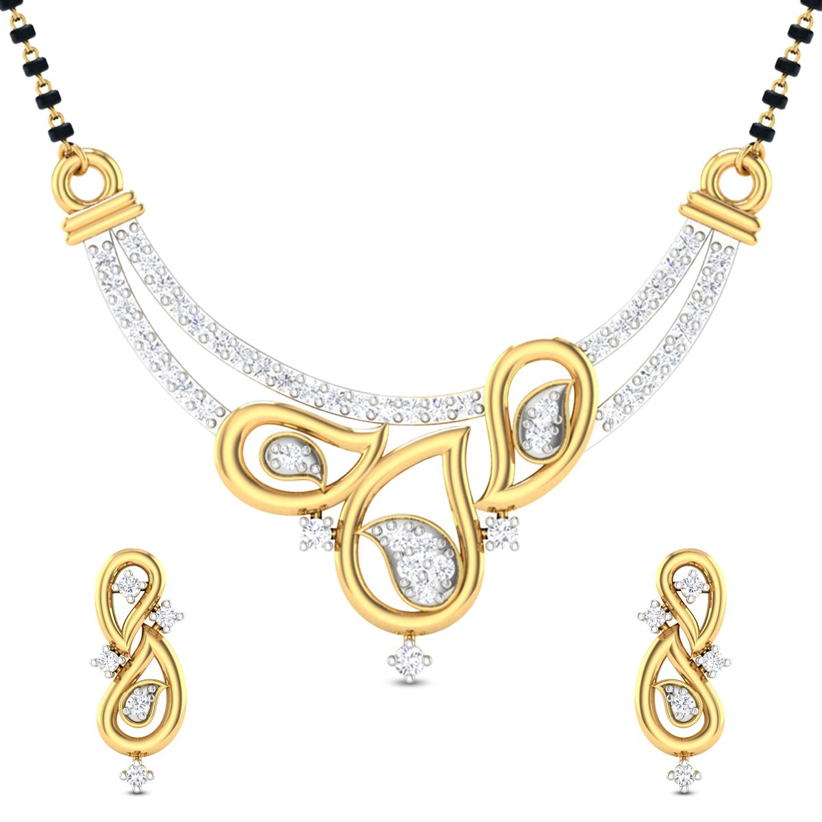 Armelle Diamond Mangalsutra Set