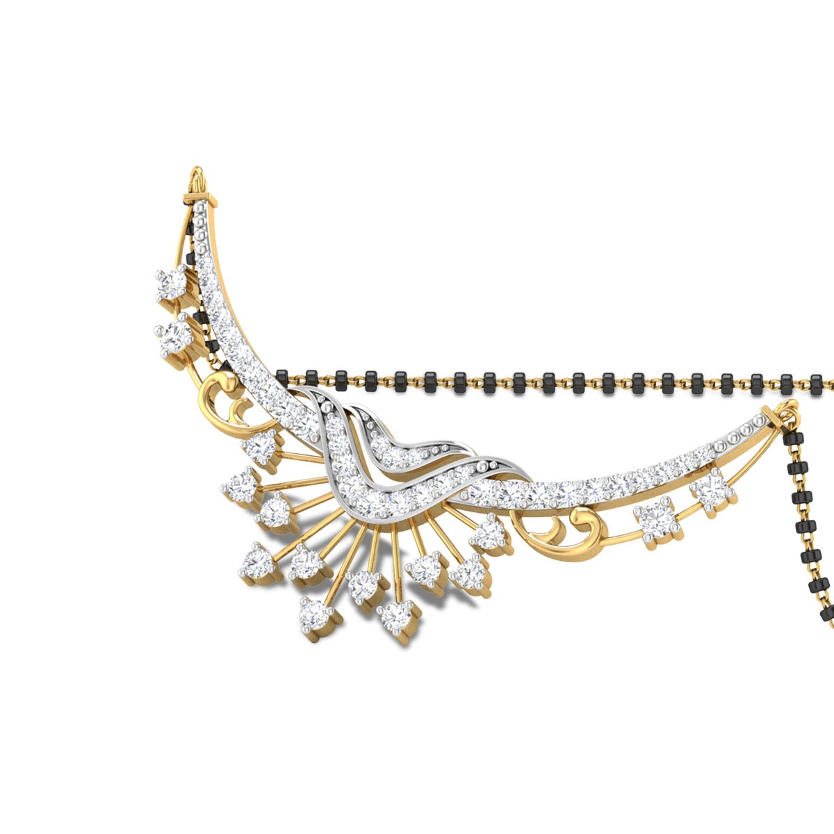 Ayaashni Diamond Mangalsutra