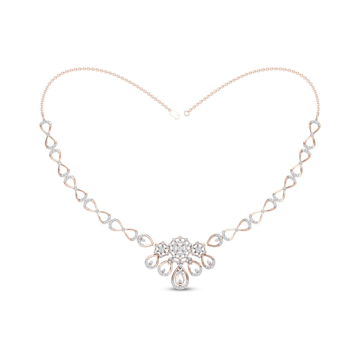 Diamond Necklace DJNC5098