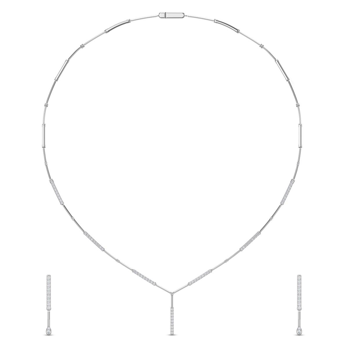 Diamond Necklace Set DJNC5109