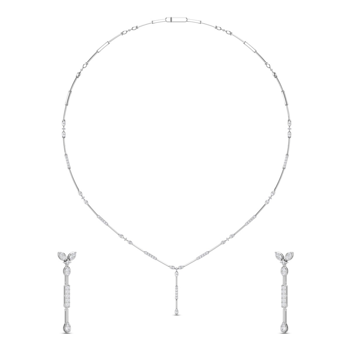 Diamond Necklace Set DJNC5132