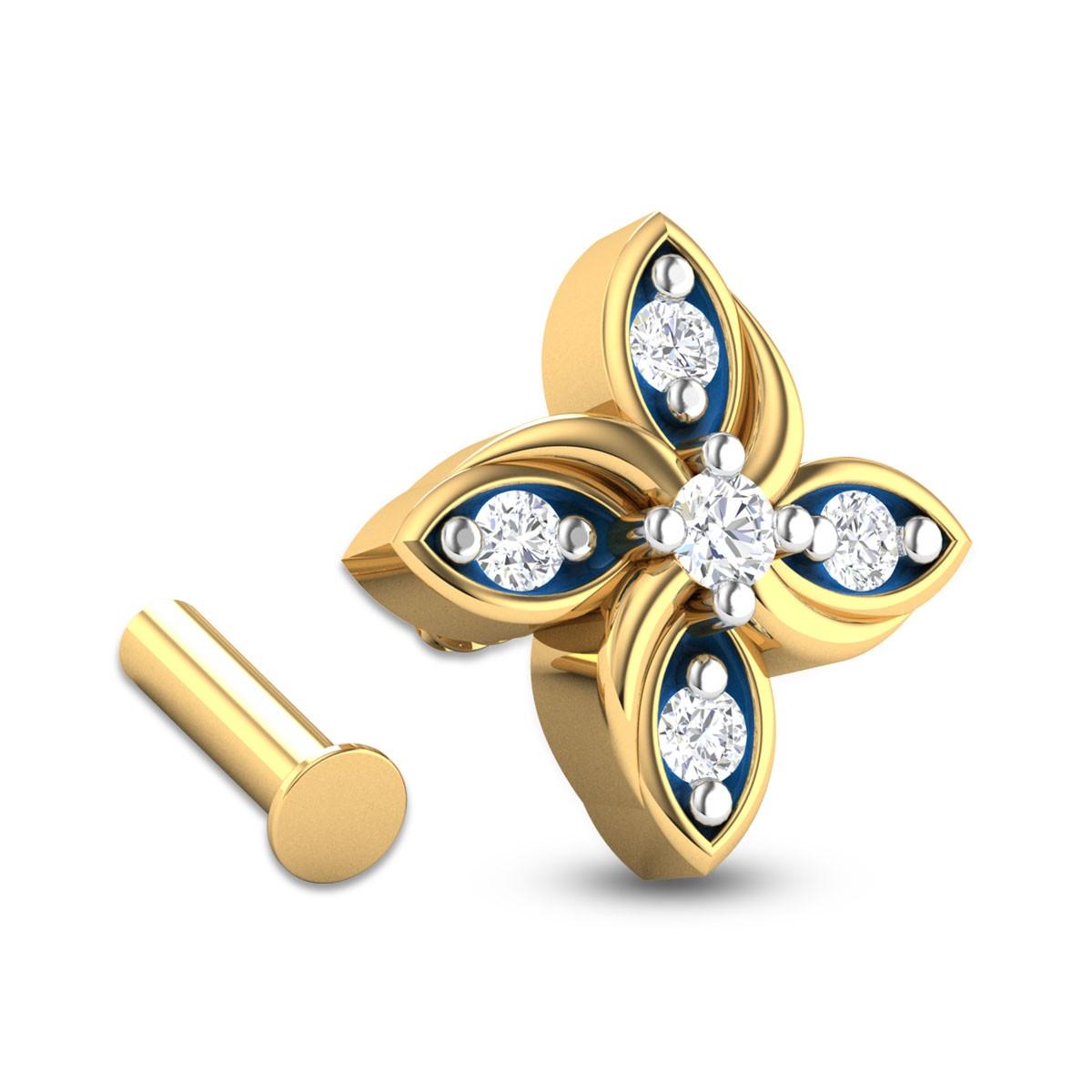 Collete Diamond Nosepin