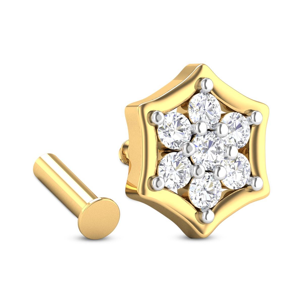 Kalliope Diamond Nosepin