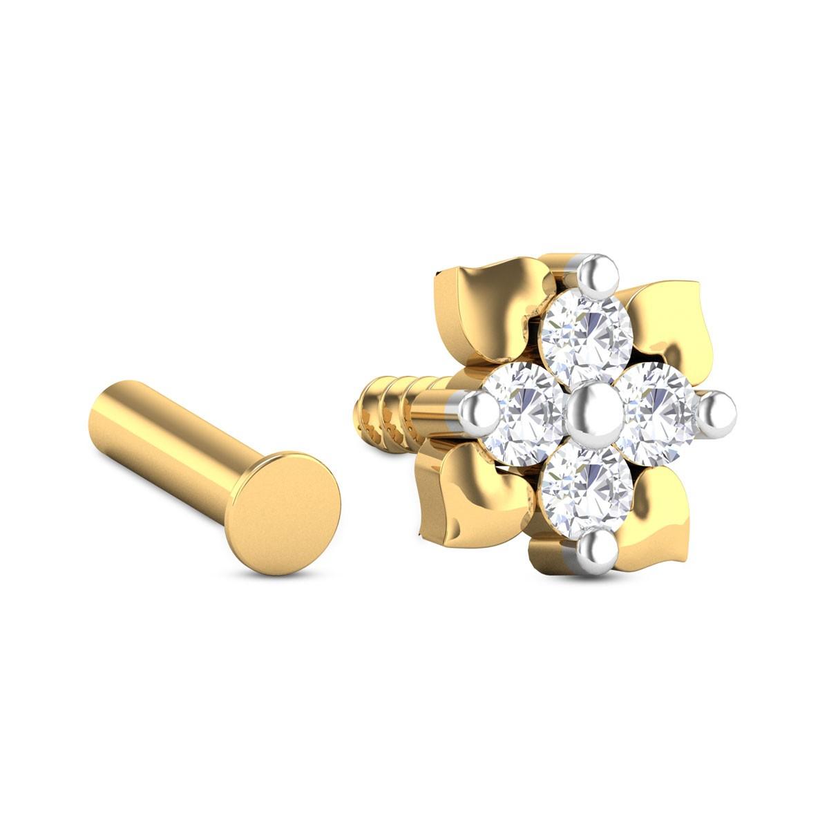 Harris Diamond Nosepin