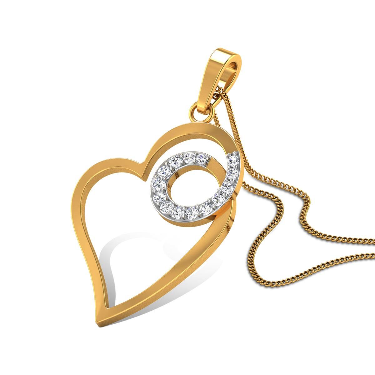 Matilda Diamond Pendant