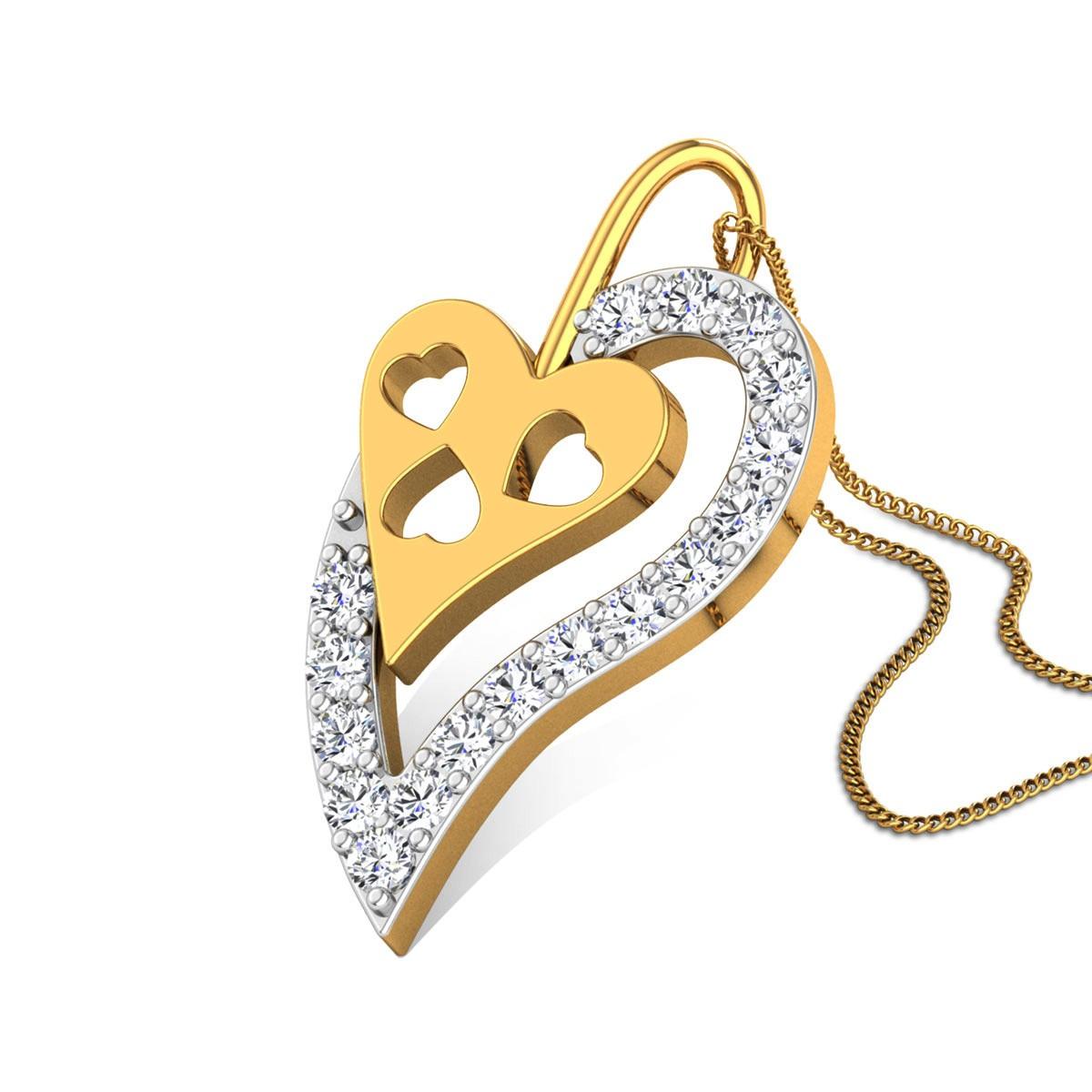 Cassandra Diamond Pendant
