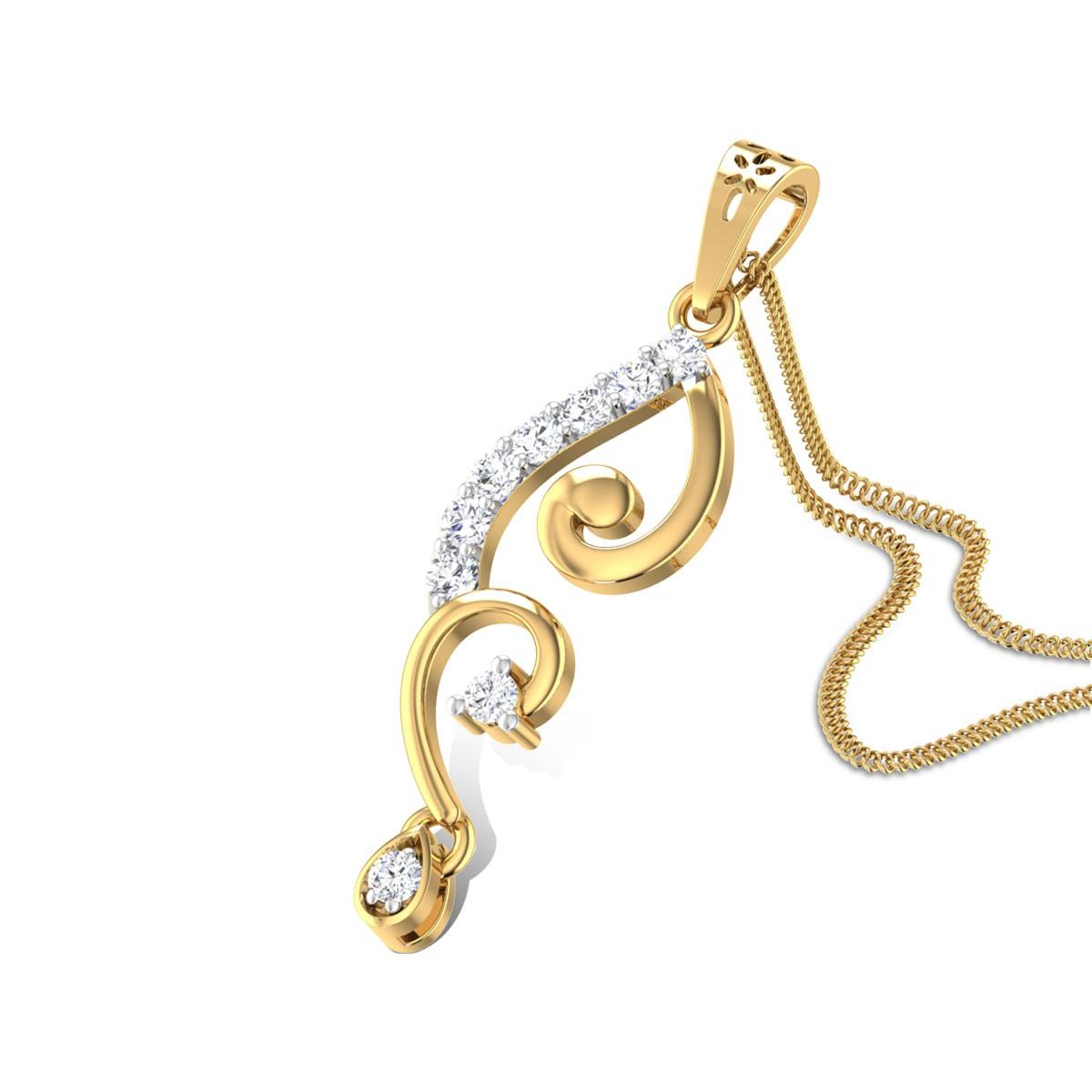 Prospire Diamond Pendant