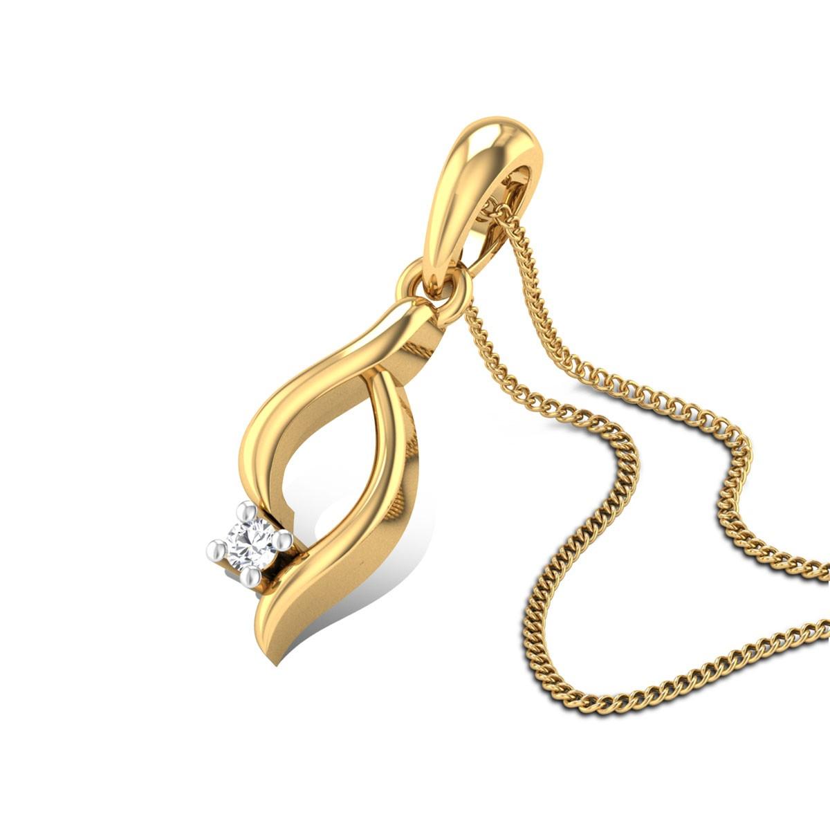 Iris Diamond Pendant