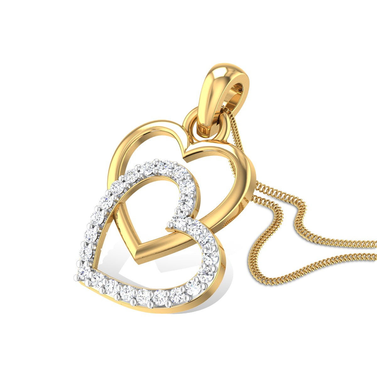 Cherrish Love Diamond Pendant