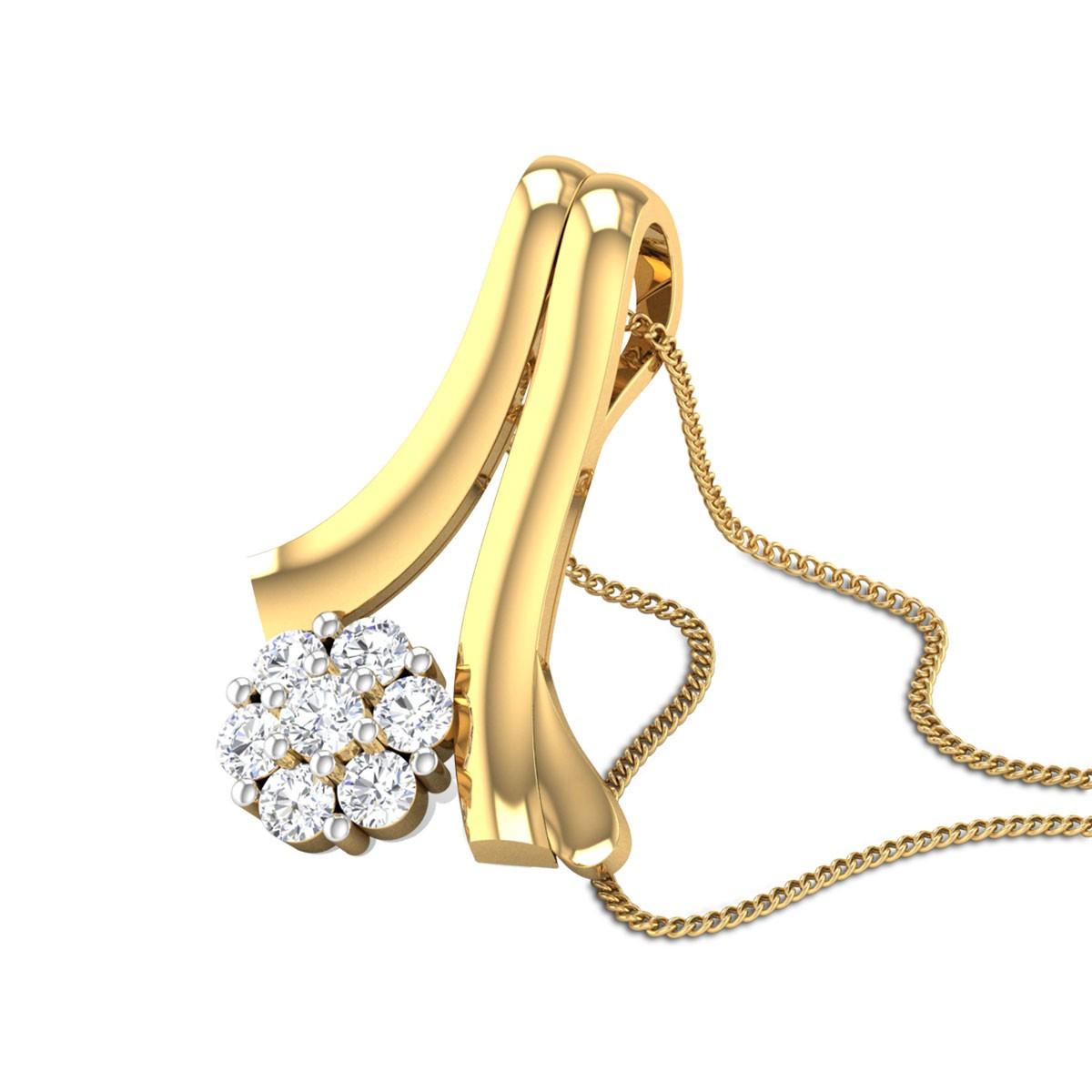 Celsia Diamond Pendant