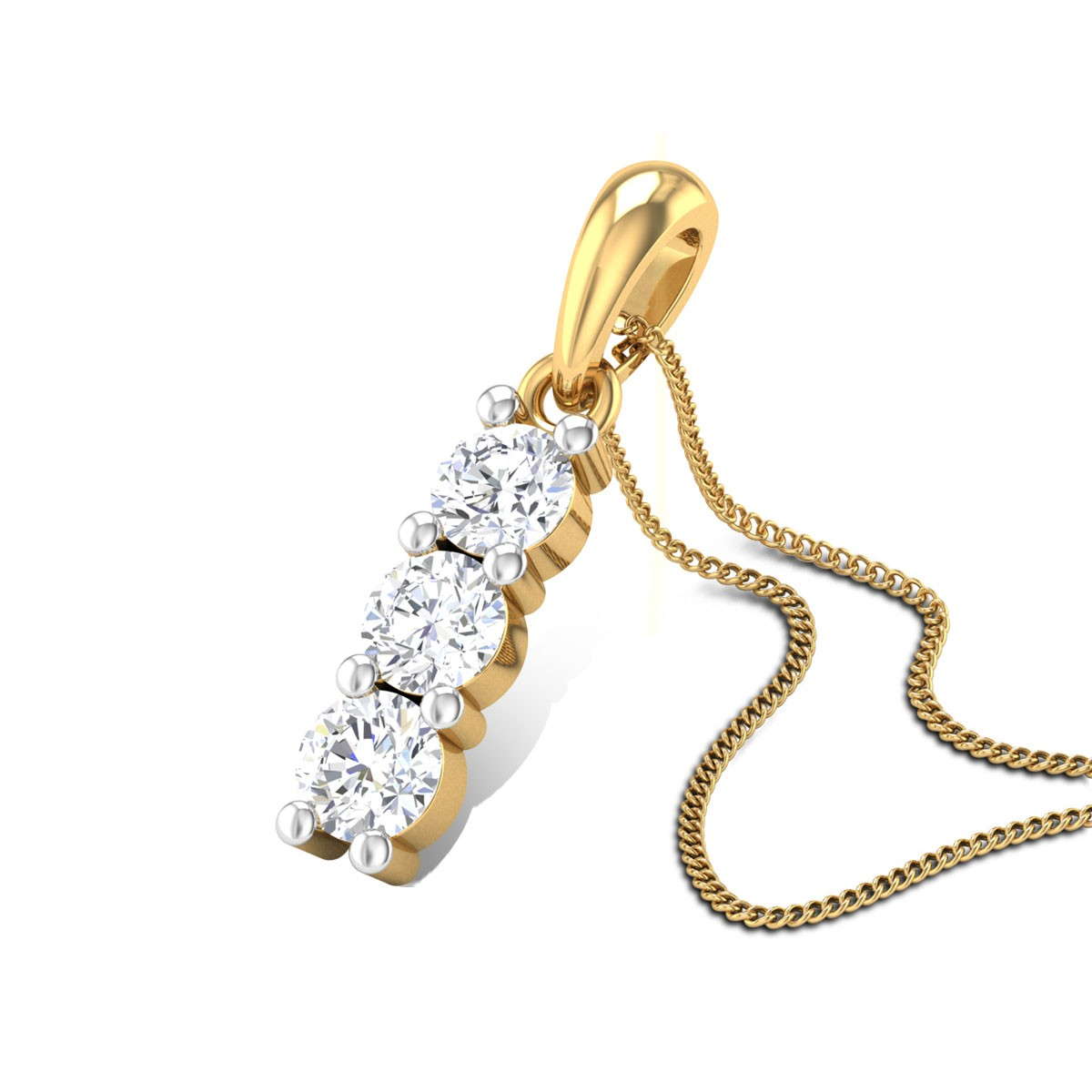 Imperial Crown Diamond Pendant