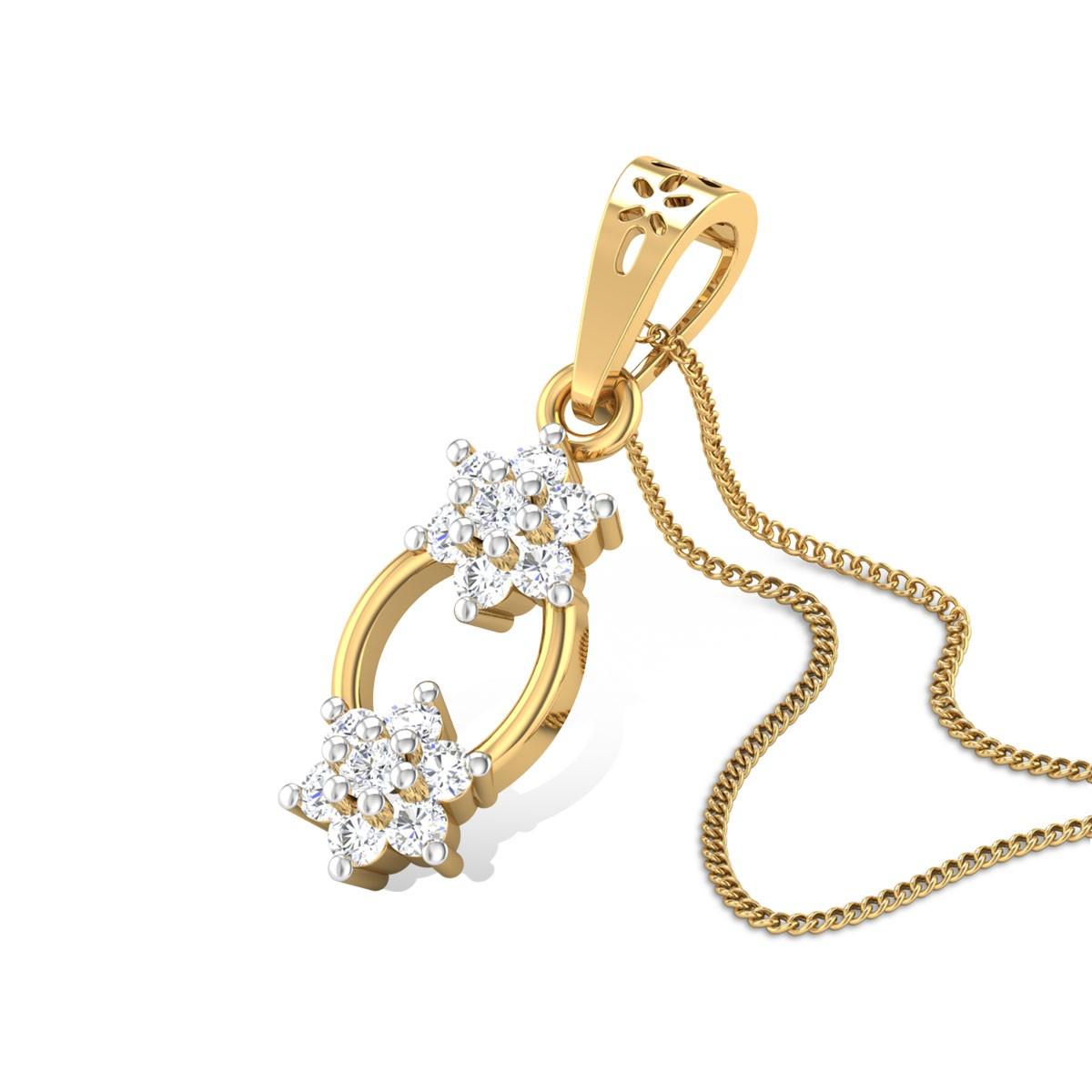 Patience Diamond Pendant