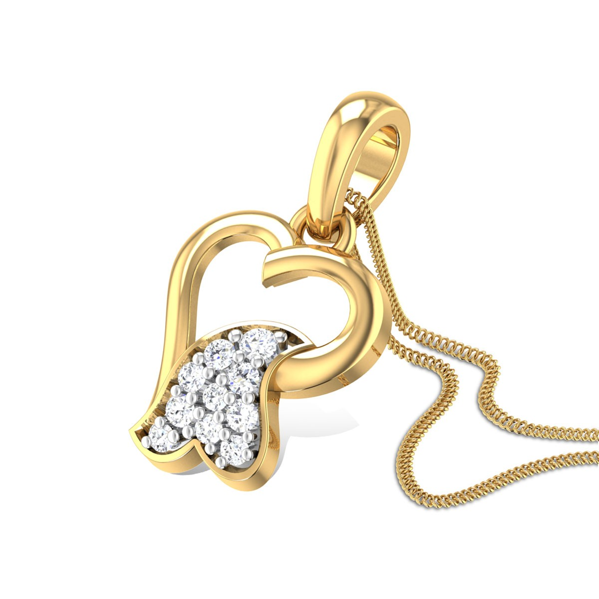 Affection Diamond Pendant