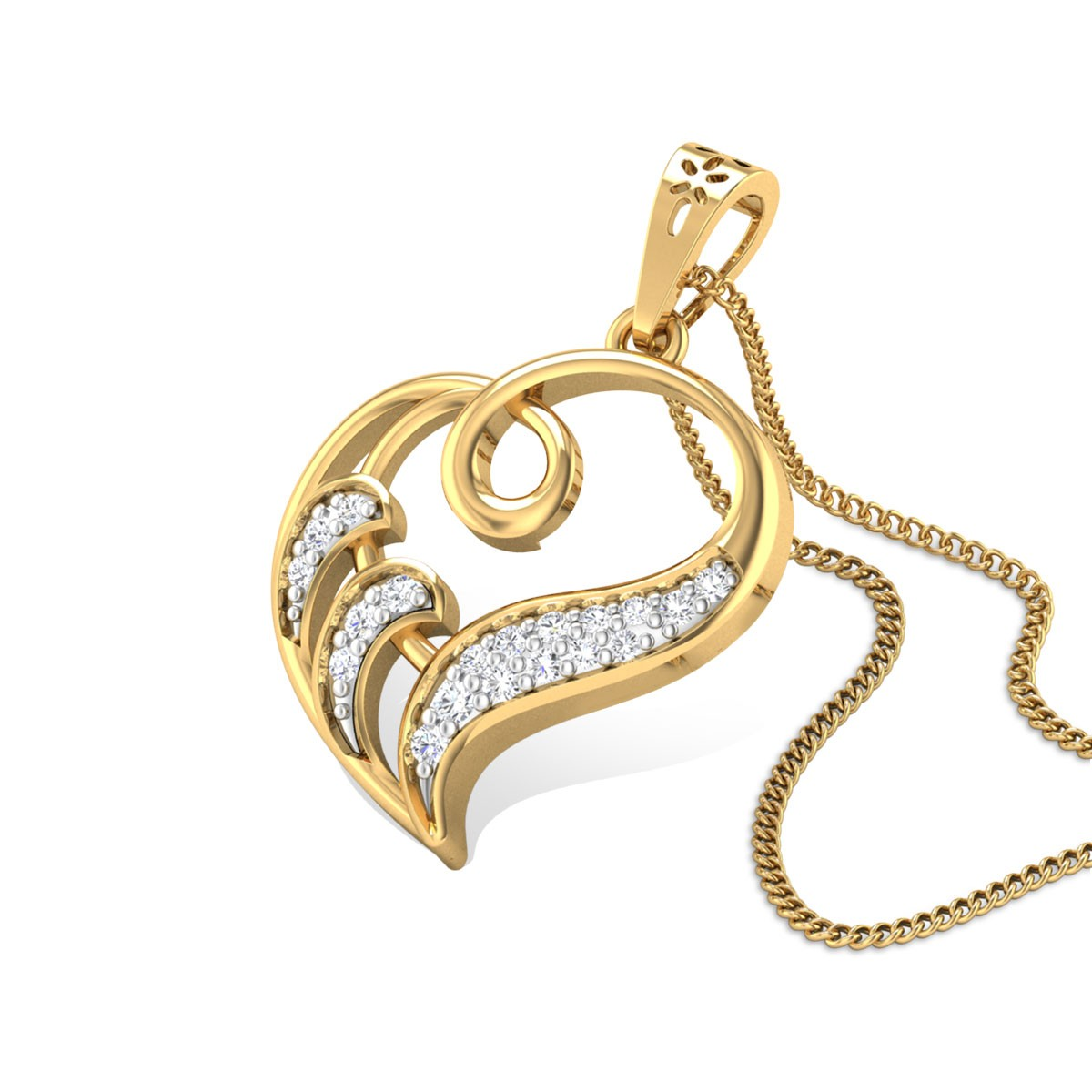 Enduring Beauty Diamond Pendant