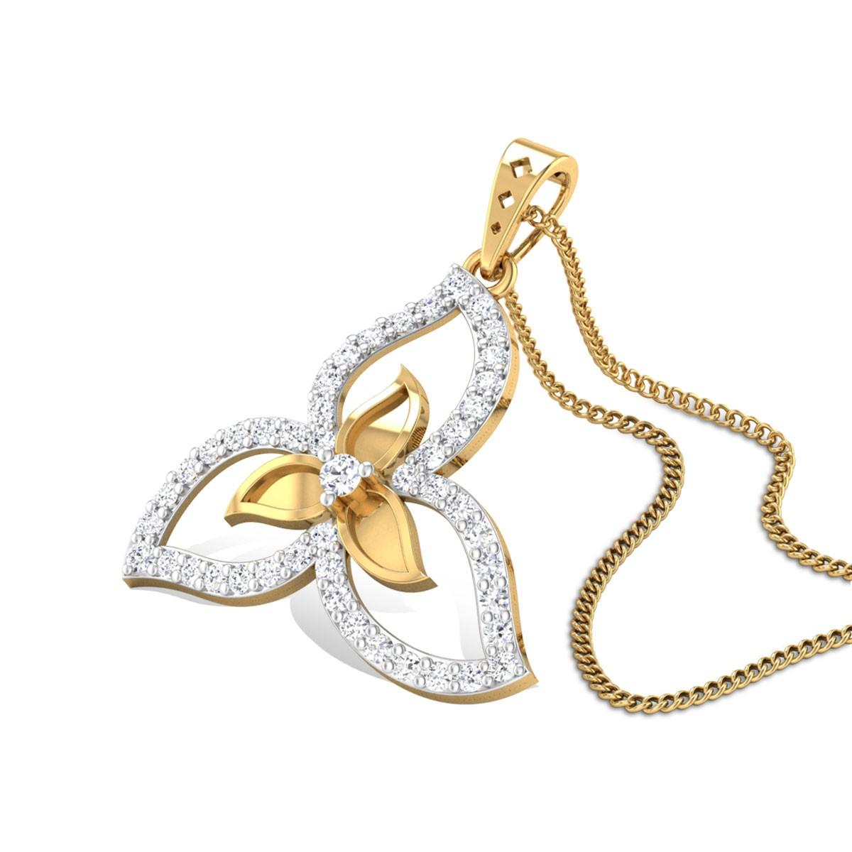 Helenium Diamond Pendant